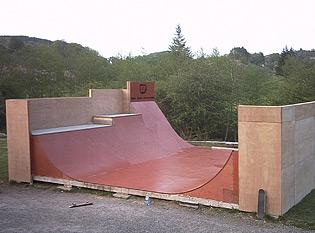 Oban ramp photo