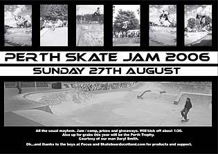 Perth Jam Poster