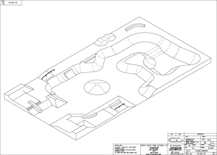Skate park business plans