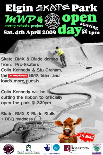 Elgin Skatepark Opening Day