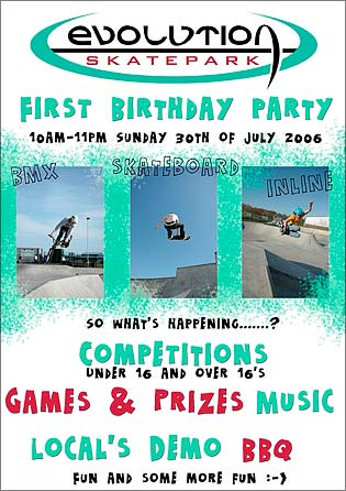Evolution Park Birthday Bash