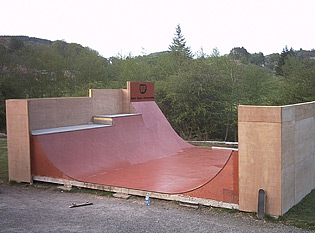 Oban ramp photo