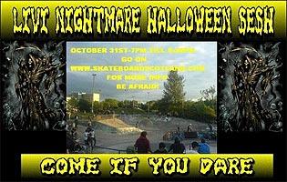 Livi Halloween Jam Poster