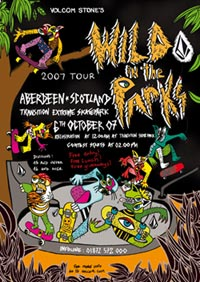 Volcom - Wild in the Parks Poster