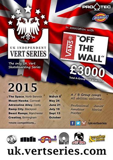 Vert Series Flyer 2015