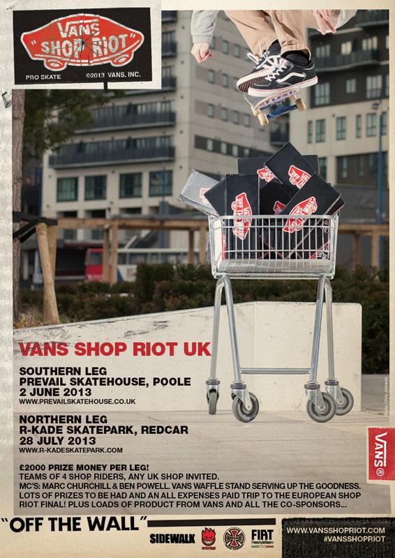 Vans Shop Riot 2013